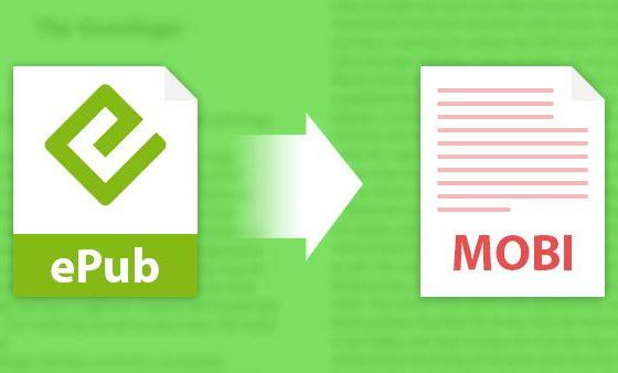 Las 2 mejores formas de convertir EPUB a MOBI